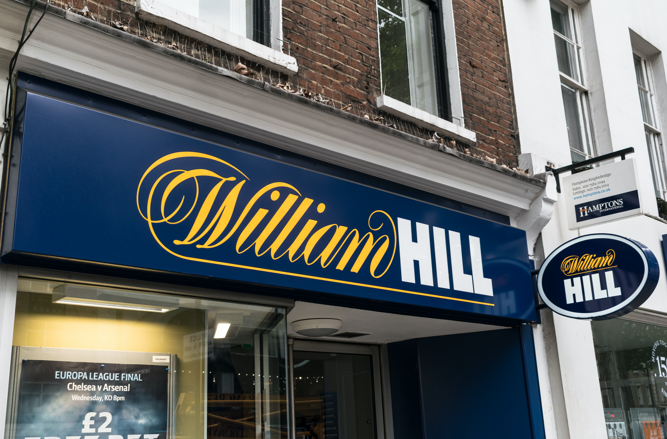 Caesars Prepare Sale of William Hill's non-American Assets